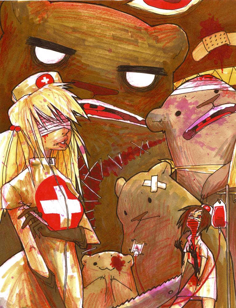 kuma kuma hospital v2 by tomhoshino
