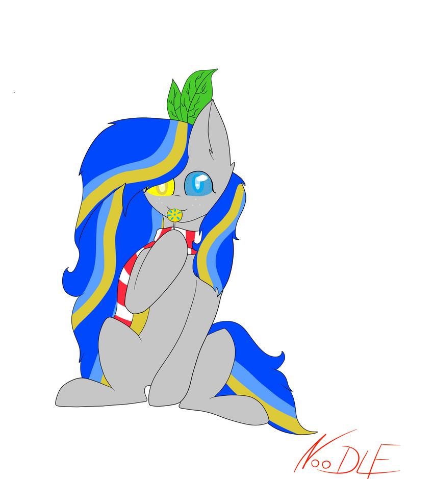Blue Lemon ~Request 13 by MULTIGIUSZ