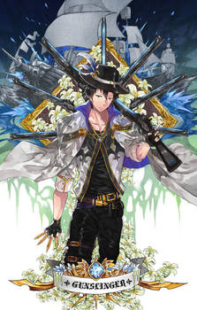 Gunslinger [SPEEDPAINT]