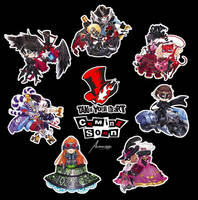 Persona 5: Charms! by Astrovique