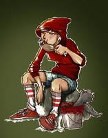 Red Riding Hood by paulorocker