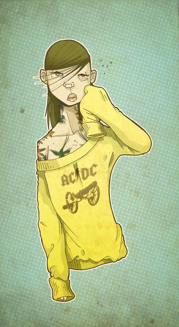 Good Morning Heartache tattoo by paulorocker