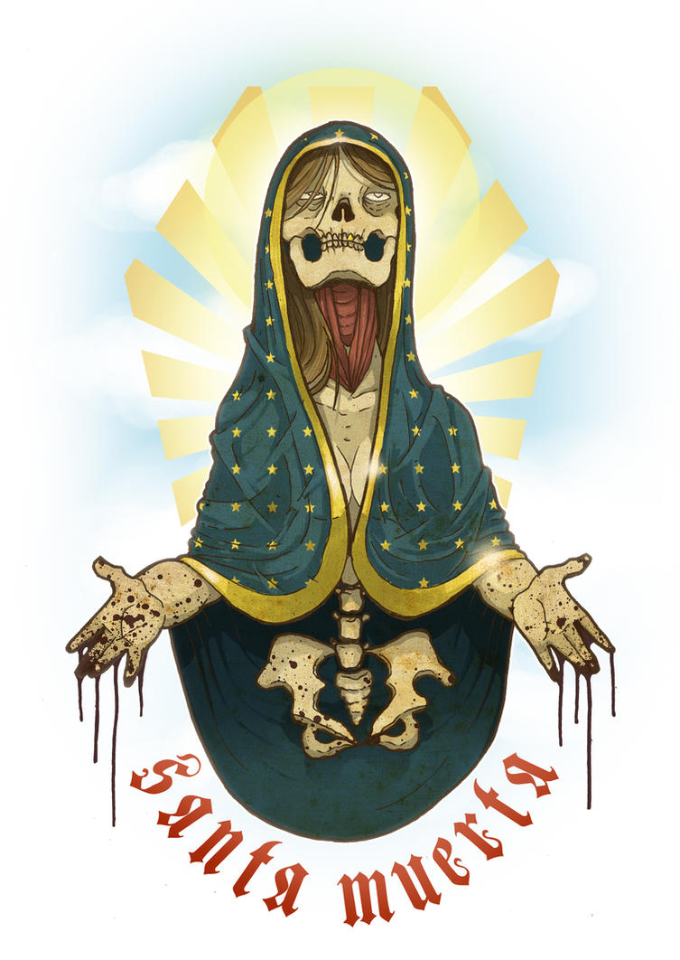 Santa Muerta - Holy Version by paulorocker
