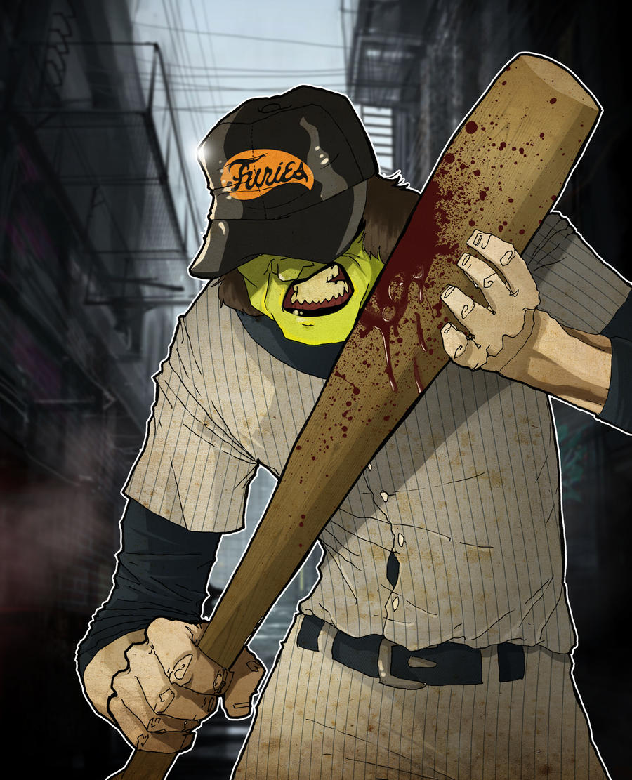 Baseball Furies by paulorocker
