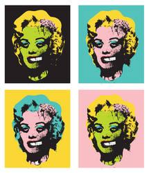 Dead Marilyn by paulorocker