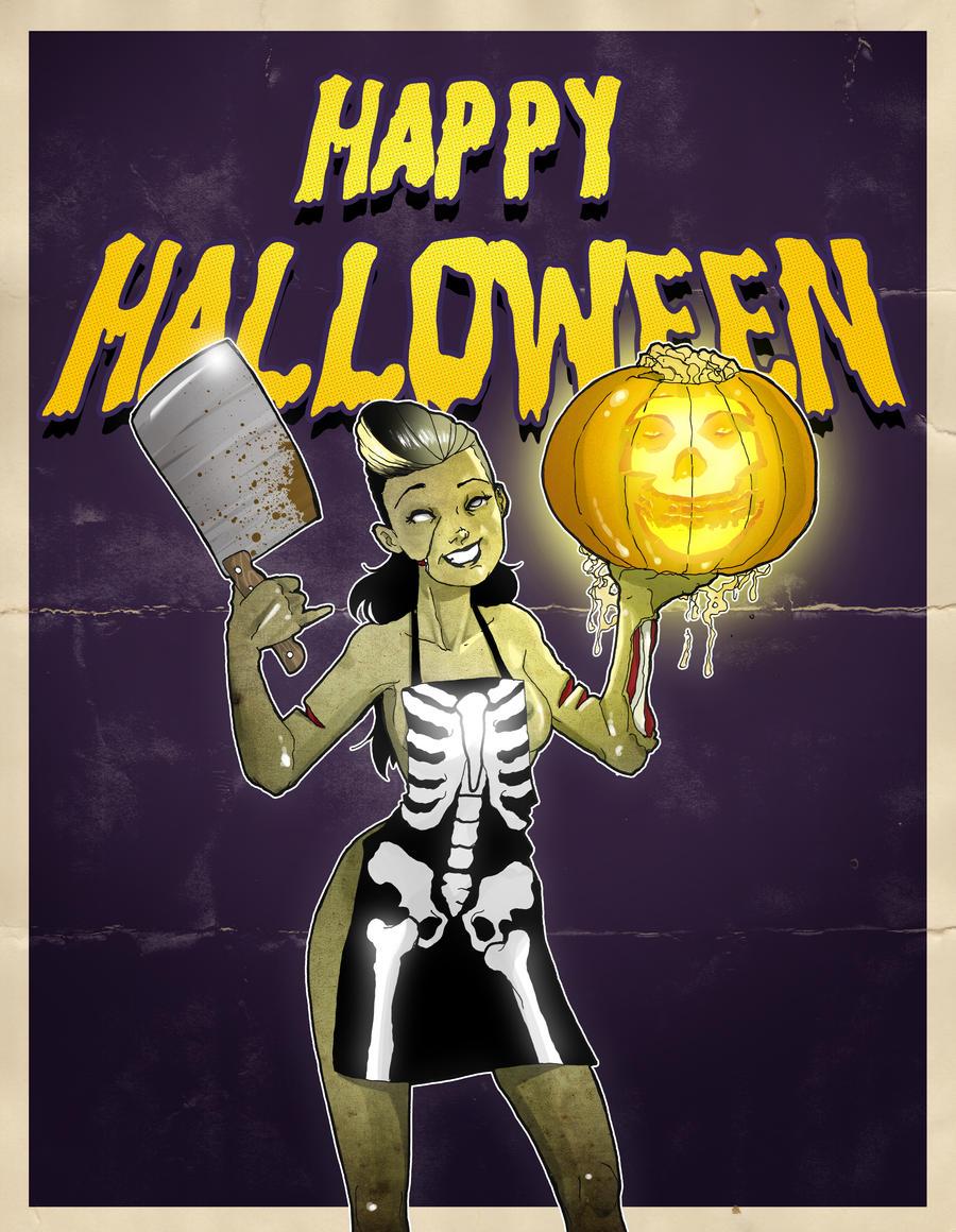 Happy Halloween by paulorocker