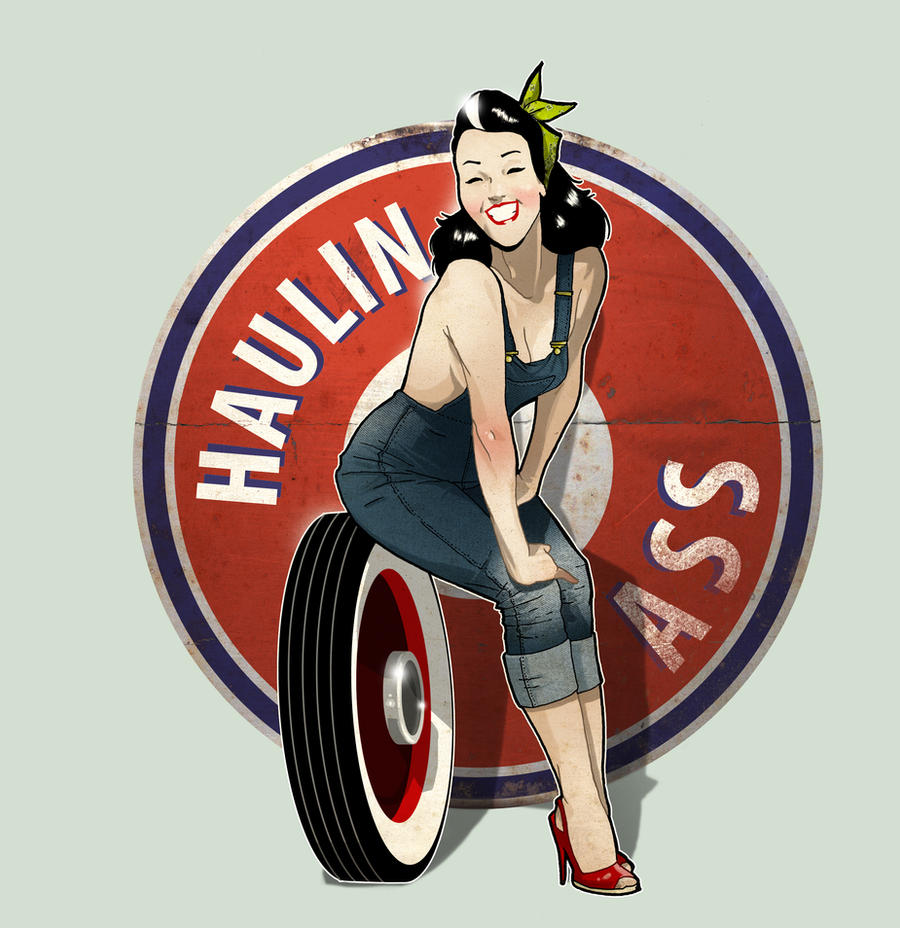 Haulin Ass by paulorocker