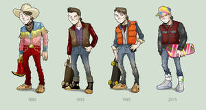 Marty through the years