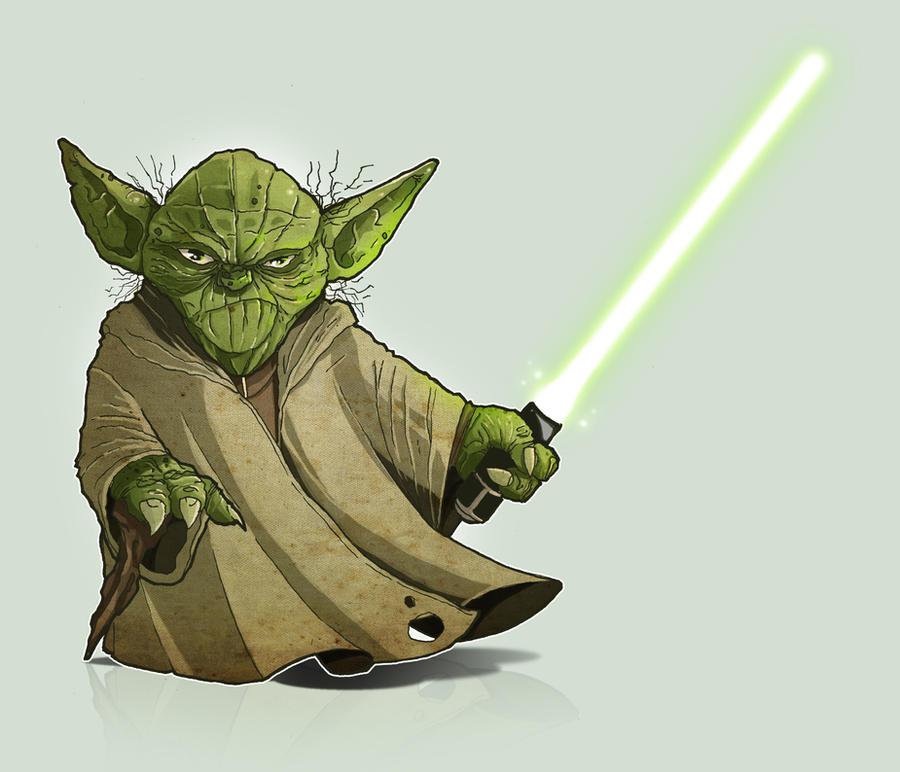 Yoda by paulorocker