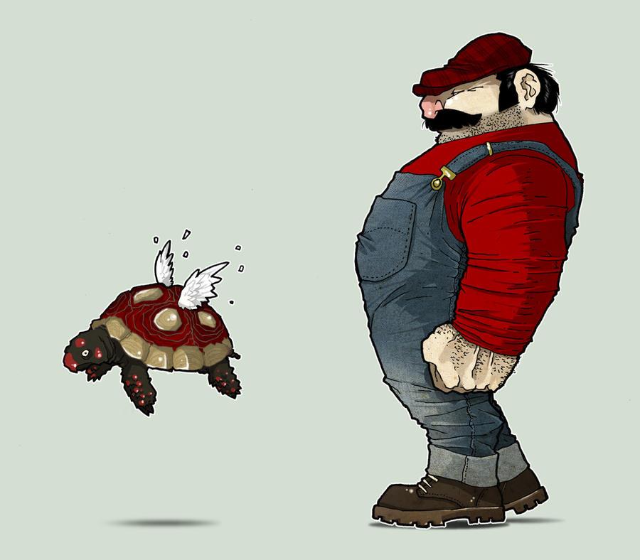 Mario by paulorocker