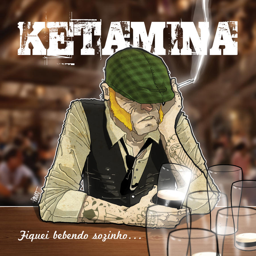 Ketamina CD cover by paulorocker