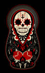 Day of the Dead Russian Dolls