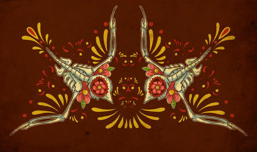 Swallow Muerta by paulorocker
