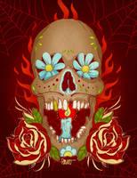 Voodoo Glow Skull by paulorocker