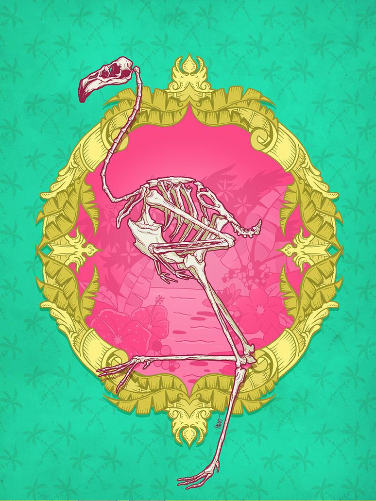 Dead Flamingo by paulorocker