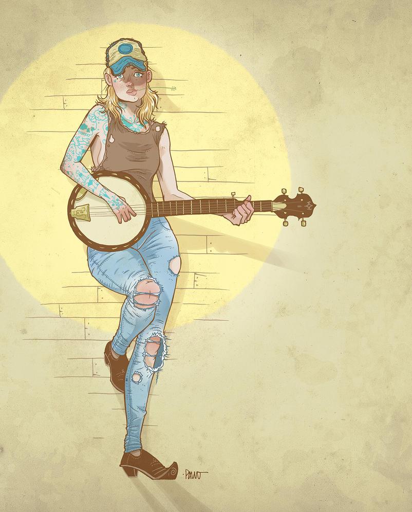 Banjo by paulorocker