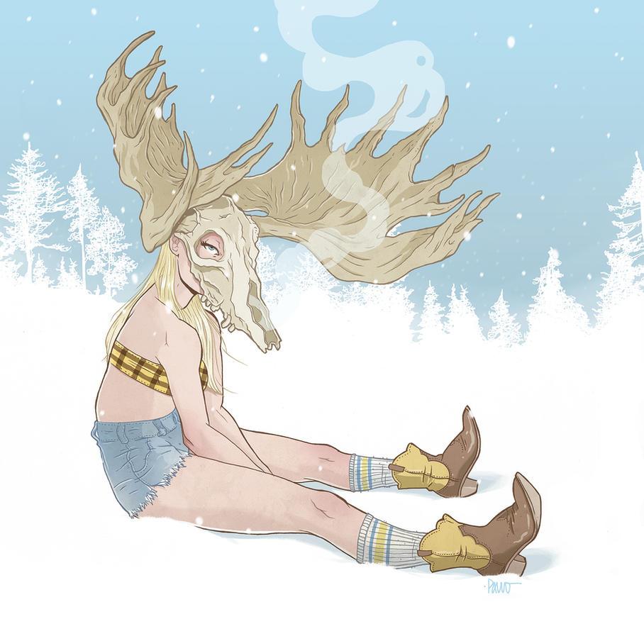 Moose by paulorocker