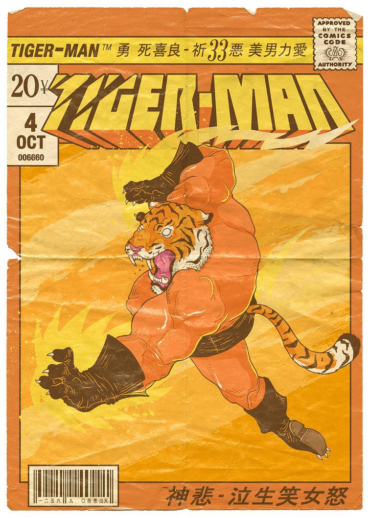 Tiger-Man! by paulorocker