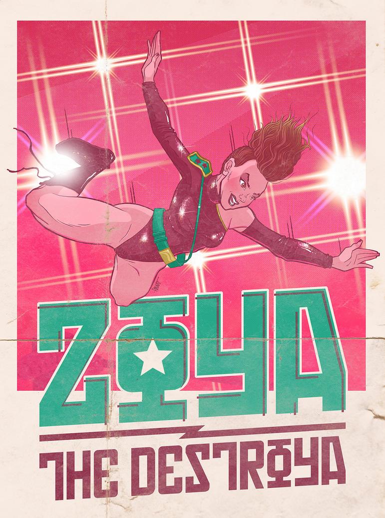Zoya the Destroya by paulorocker