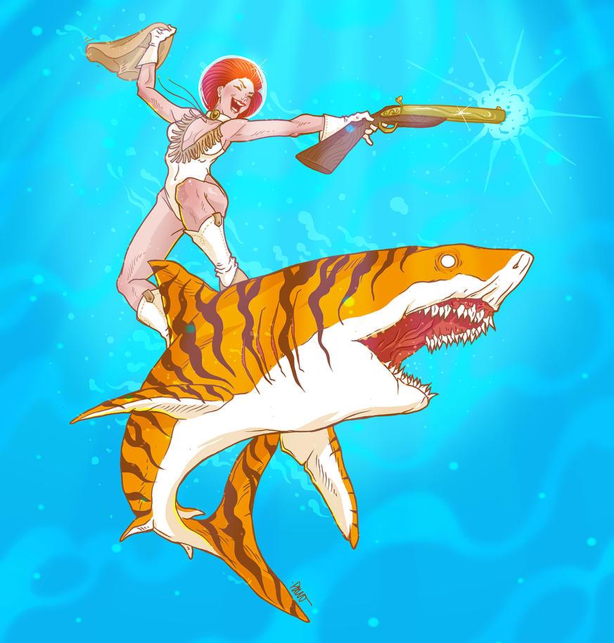 Tiger Shark by paulorocker