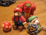 Nintendo Clay Mini