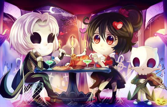 AT: Hallow's Dinner Eve-tation XD