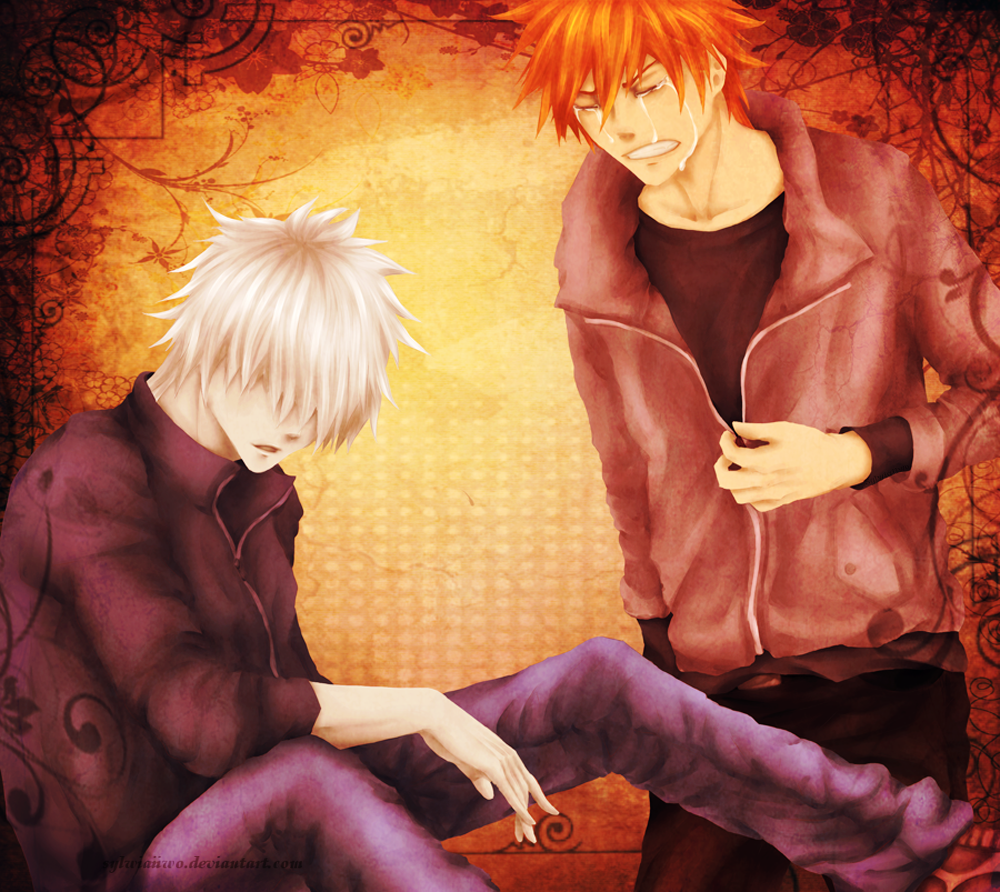 BLEACH: Being with You... by sylwiaiiwo