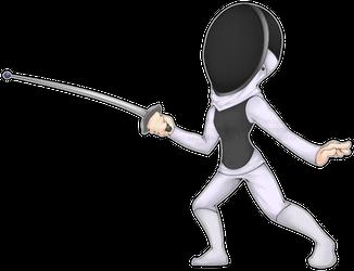 Fencer by Anzuchi