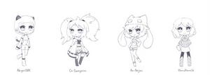 [ r ] Chibi Sketches