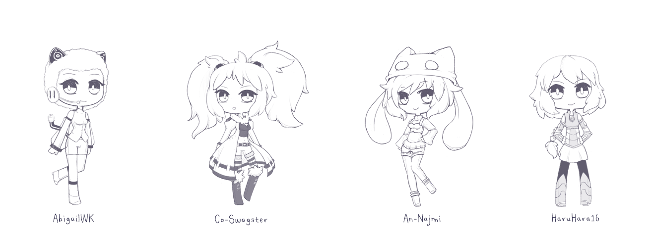 [ r ] Chibi Sketches by Anzuchi