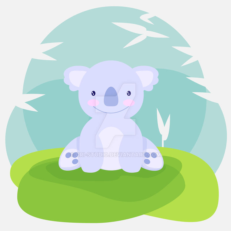 Cute Koala by Cri-Studio