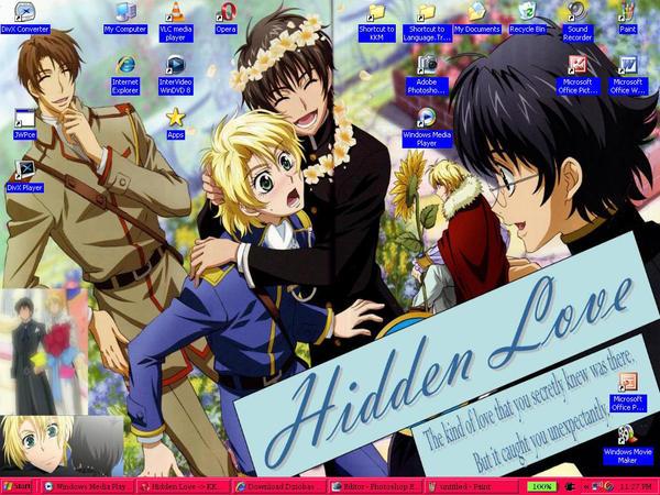 Yuuram Hug Hidden Love Desktop by Latias-Eevee