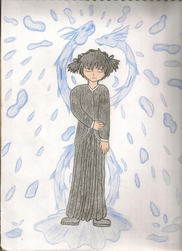 Female Yuuri or Daughter by Latias-Eevee