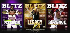 Blitz Magazine Covers