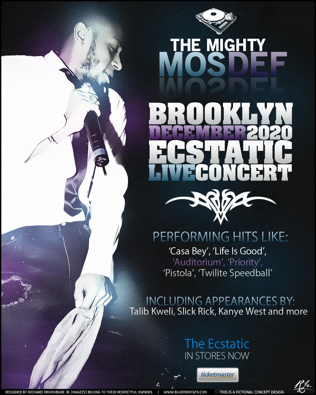 Mos Def Concert Poster by rjartwork