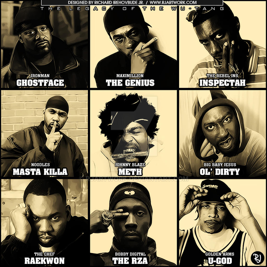 The Legacy of the Wu-Tang by rjartwork