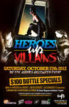 Heroes vs Villains 2012 Poster
