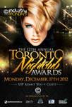 Toronto Nightclub Awards Poster