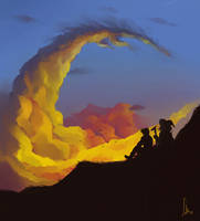 Dragon tale by Lelia