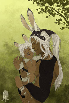 Viera: Father and son by Lelia