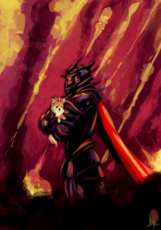 Dark Lord of Devastation by Lelia