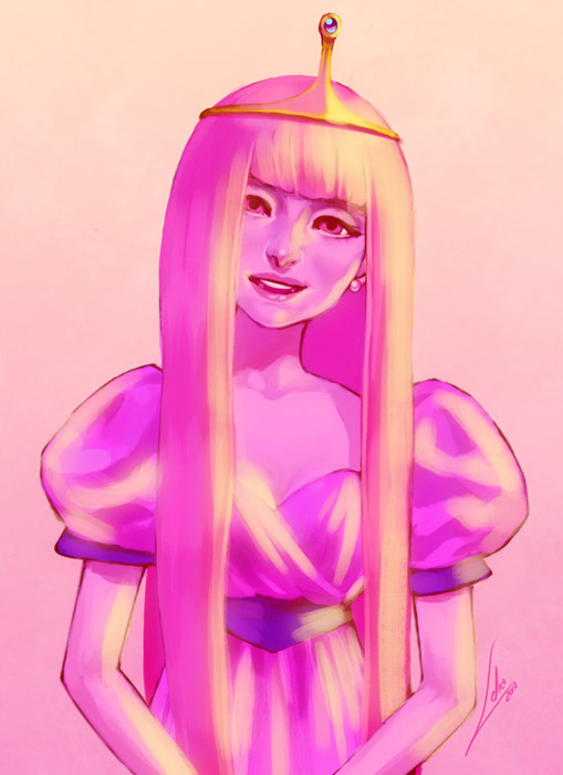 Princess Bubblegum by Lelia