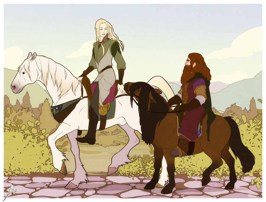 To Ithilien haven by Lelia