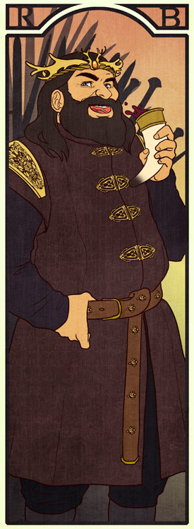 BM: Robert Baratheon by Lelia