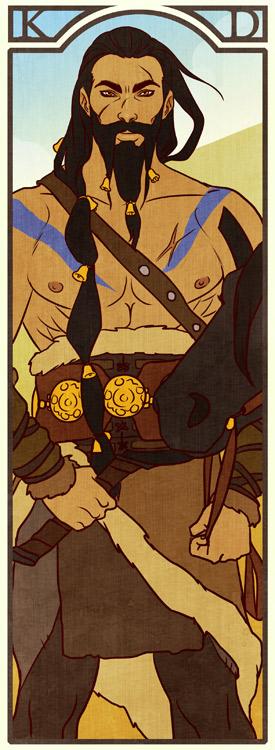 BM: Khal Drogo by Lelia