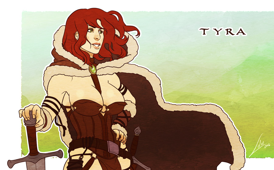 Commission: Tyra by Lelia