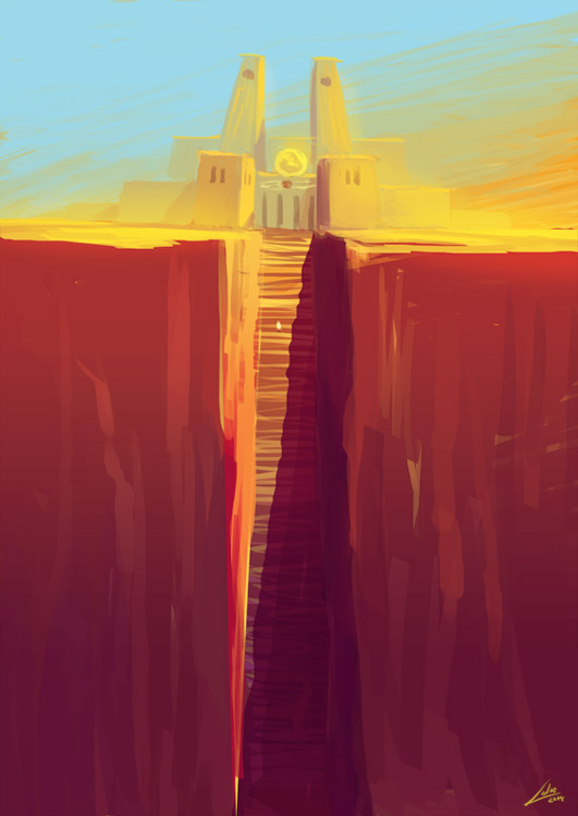 Sun Temple 01 by Lelia