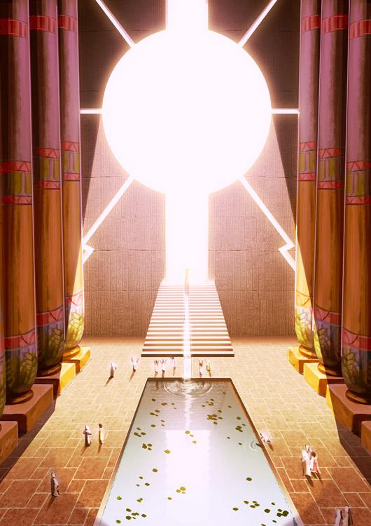 Sun Temple 03 by Lelia