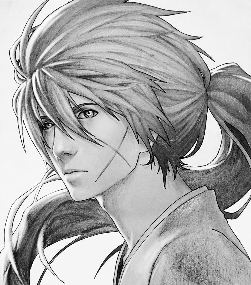Kenshin Himura Original By FKAwesome