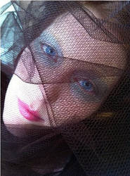 Veiled - photograph by E.T.